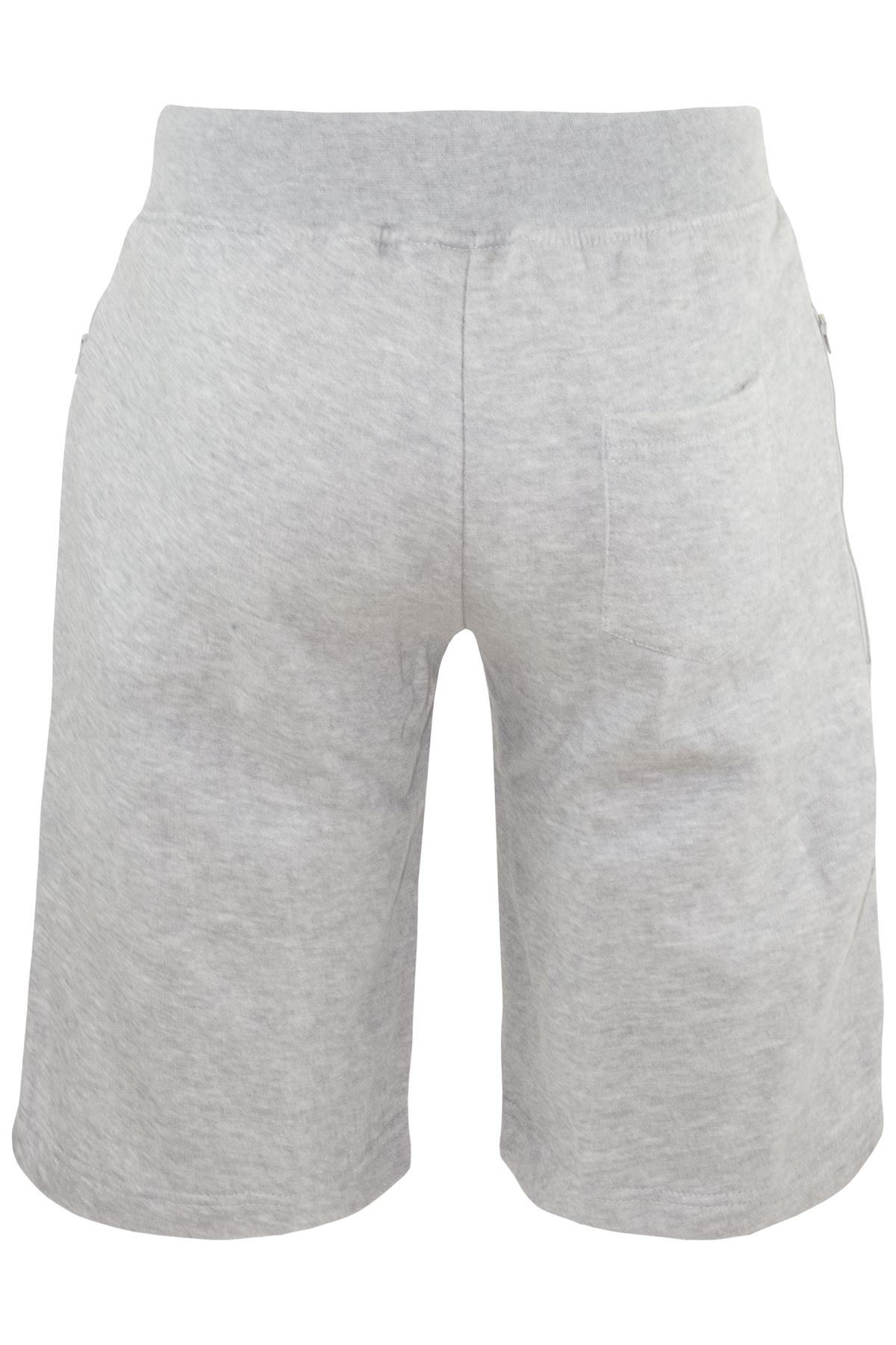 Mens-Contrast-Panel-Running-Summer-Side-Slit-Knee-Length-Fleece-Bottoms-Shorts thumbnail 40