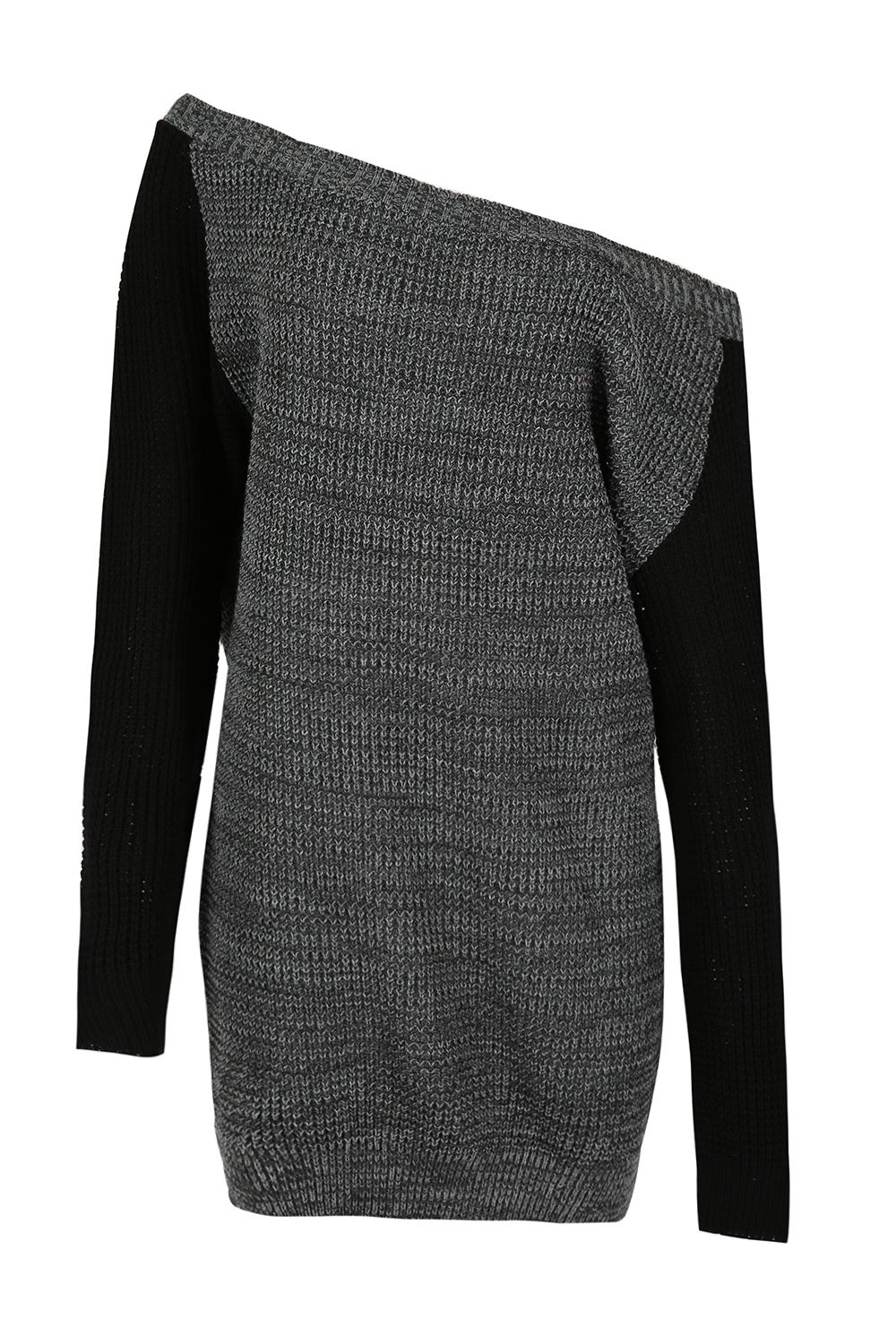 Womens-Oversized-Jumper-Ladies-Dress-Long-Sleeve-Chunky-Knitted-Long-Sweater-Top thumbnail 32