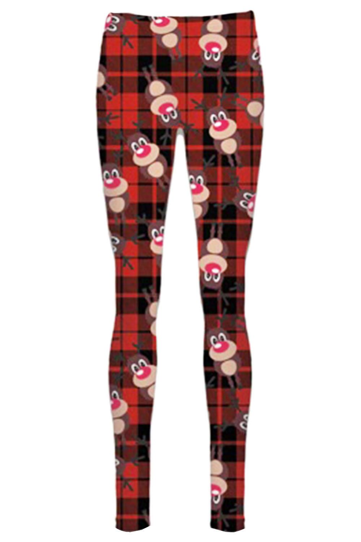 Women-Ladies-Kids-Girls-Xmas-Santa-Gifts-Christmas-Print-Skater-Mini-Swing-Dress thumbnail 47