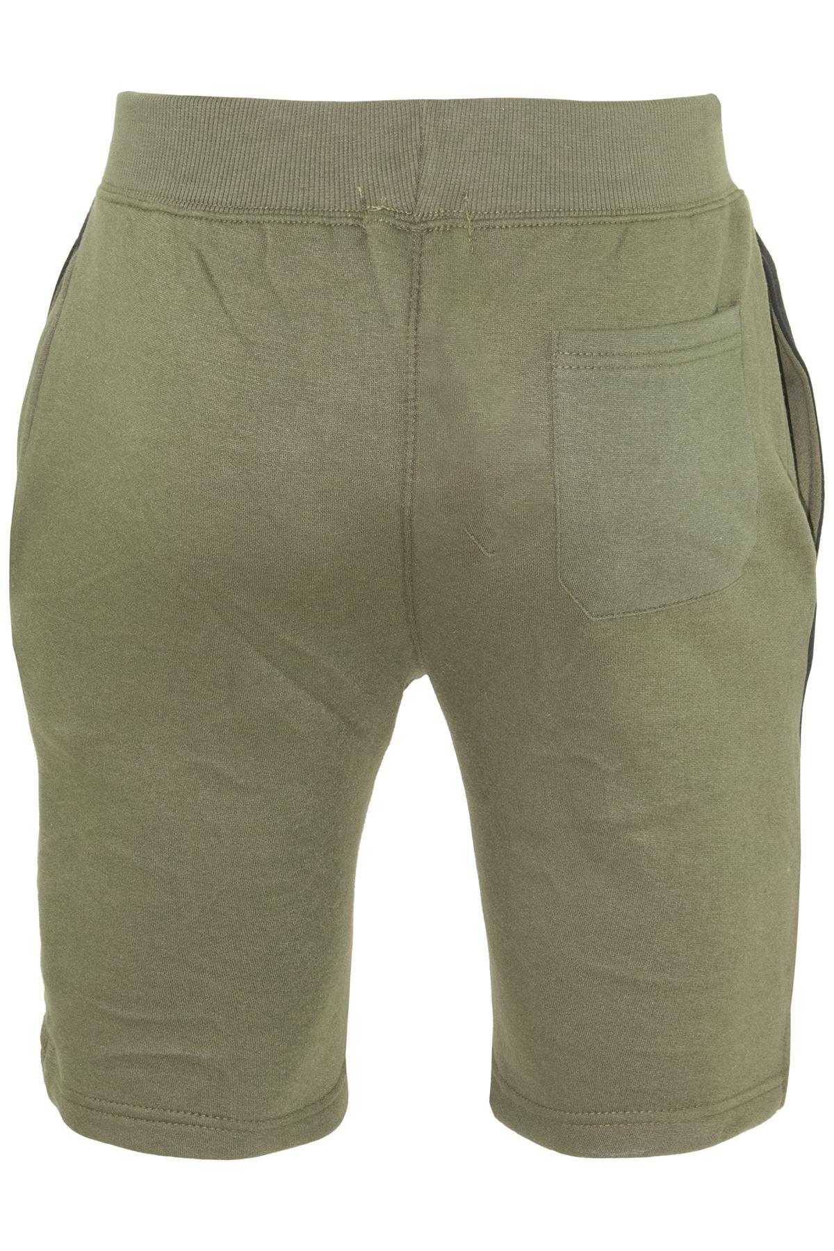 Mens-Contrast-Panel-Running-Summer-Side-Slit-Knee-Length-Fleece-Bottoms-Shorts thumbnail 5