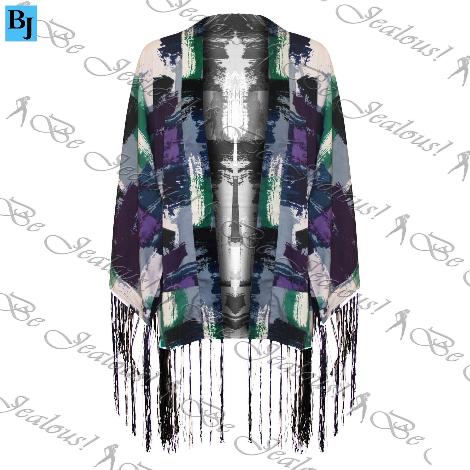 Femme-kimono-retro-vintage-hippie-retro-veste-ample-manteau-blazer-fit-top