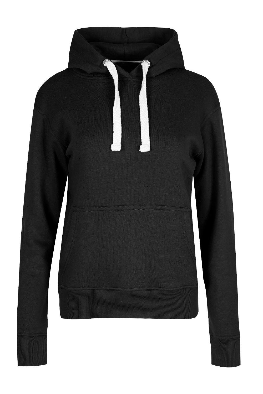 a926f5764 Womens Hoodies Ladies Long Sleeve Fleece Knitted Pockets Jumper Top ...