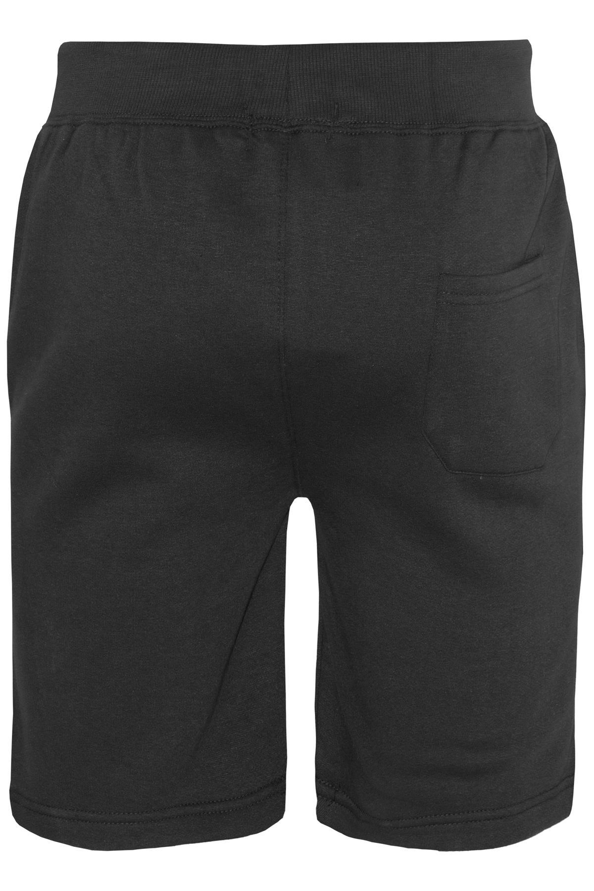 Mens-Contrast-Panel-Running-Summer-Side-Slit-Knee-Length-Fleece-Bottoms-Shorts thumbnail 19