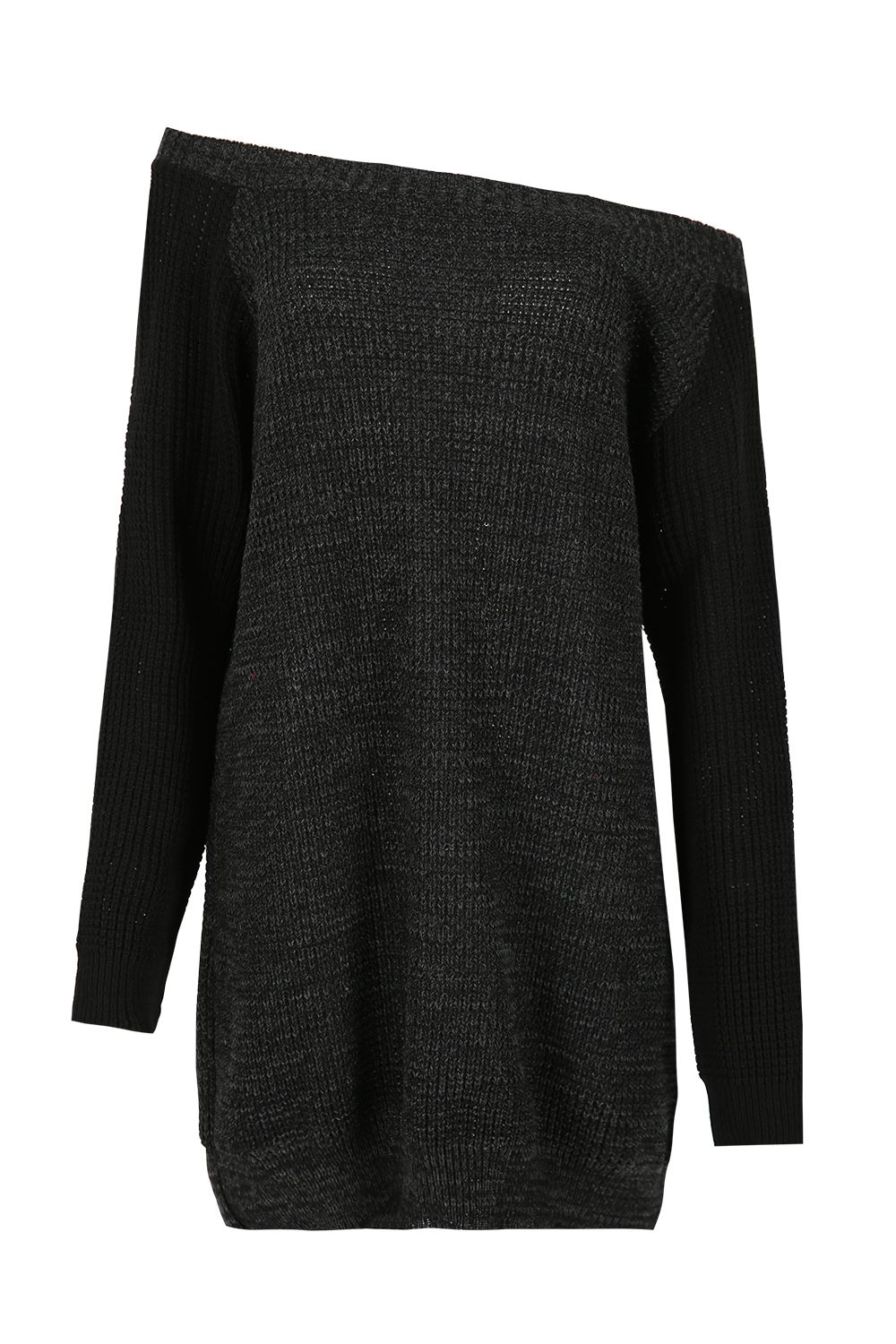 Womens-Oversized-Jumper-Ladies-Dress-Long-Sleeve-Chunky-Knitted-Long-Sweater-Top thumbnail 37