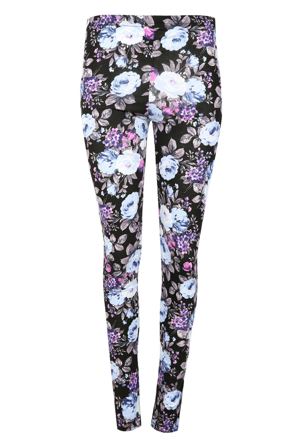 3c618162c642 Kids Leggings Childrens Girls Printed Skinny Fitted Stretchy ...