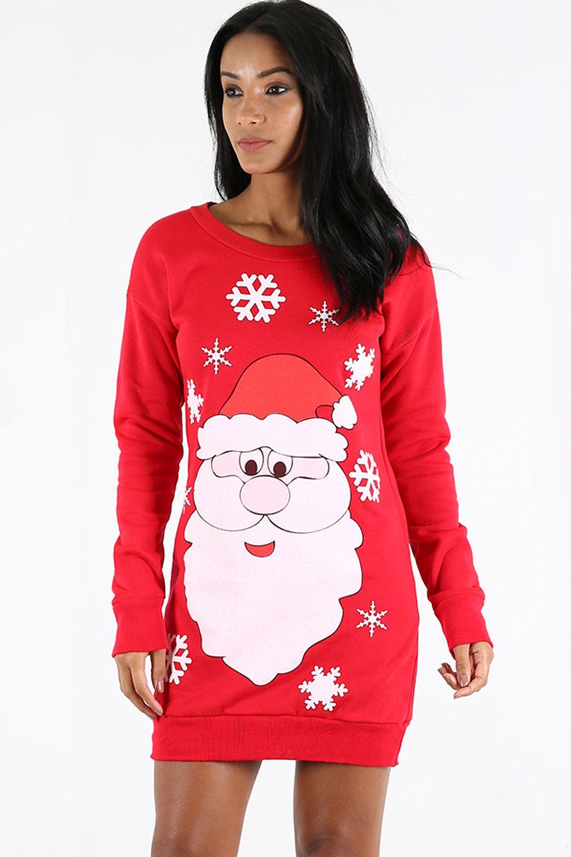 womens christmas sweatshirt ladies xmas snowman knitted
