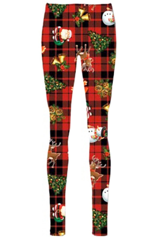 Women-Ladies-Kids-Girls-Xmas-Santa-Gifts-Christmas-Print-Skater-Mini-Swing-Dress thumbnail 41