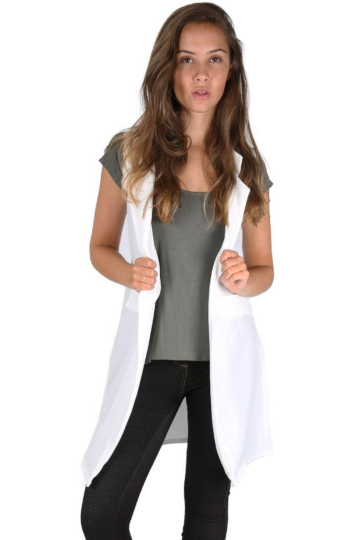 Womens sleeveless coat