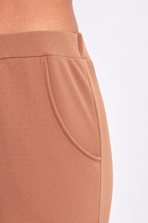 Elegant  Gt Women39s Cigarette Trousers With Tartan Pattern In Cotton Stretch