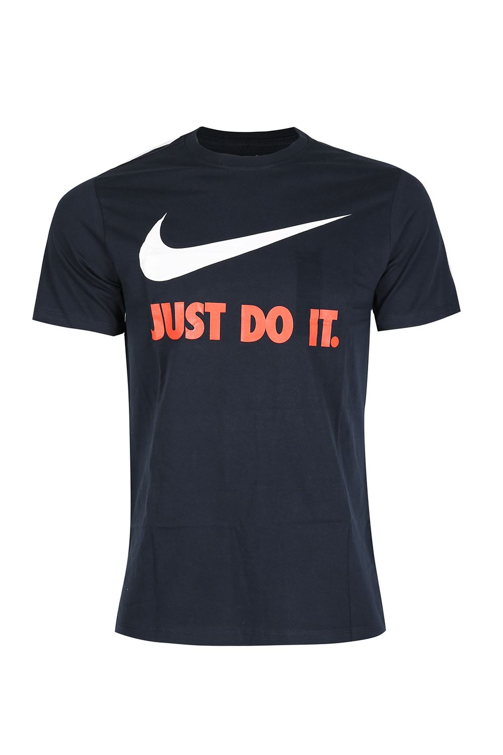 Nike Mens JUST DO IT Printed Cap Sleeve Swoosh Gym Crew ...