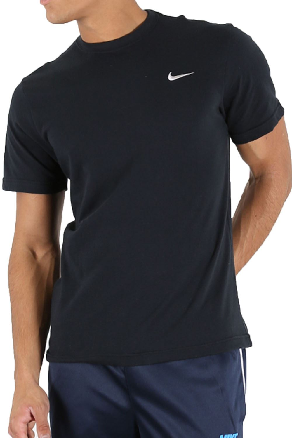Nike mens cap sleeve just do it swoosh gym fitness crew for Best fitness t shirts