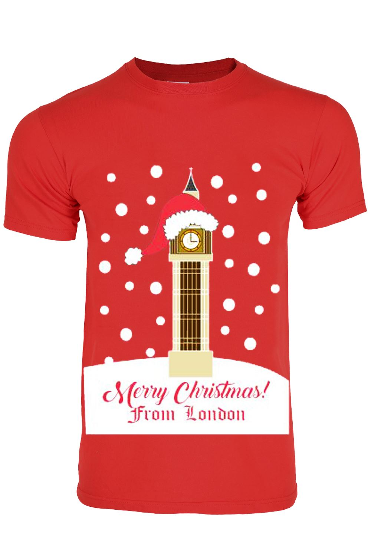 Unisex Christmas Gift Ideas: Unisex Mens Womens Xmas Christmas T Shirt Novelty Santa