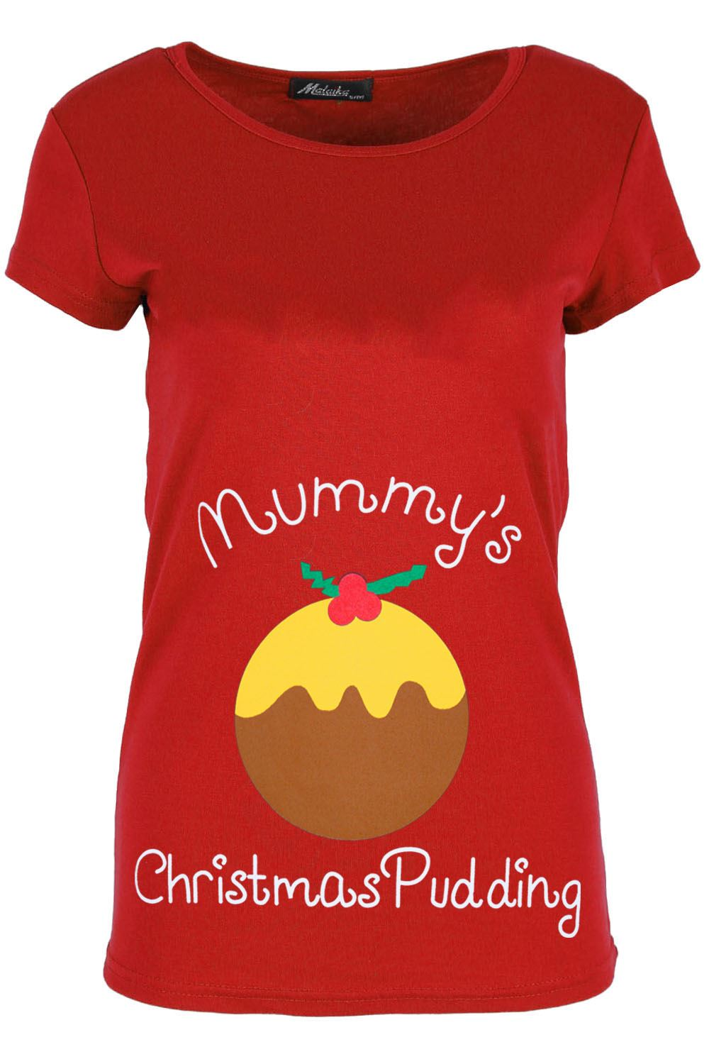thumbnail 11 - Womens-Christmas-Xmas-Pullover-Elf-Candystick-Snowflakes-Ladies-T-Shirt-Tee-Top