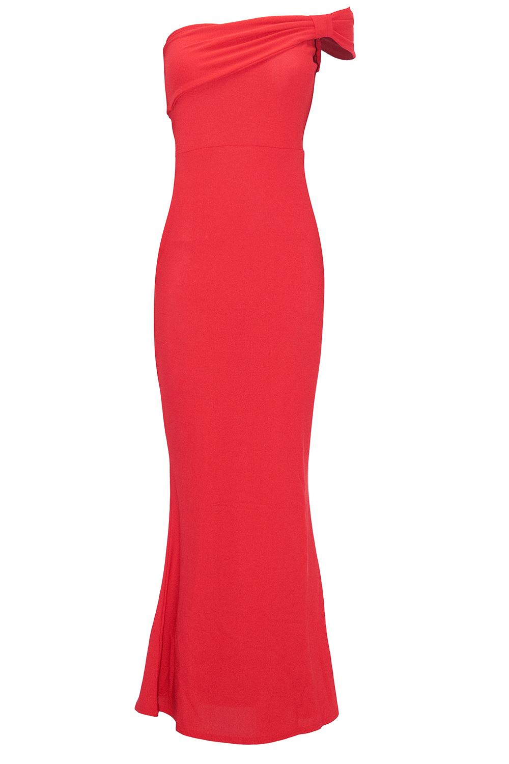 Womens-Ladies-Bow-Frill-Boobtube-Bandeue-Sleeveless-Strapless-Bodycon-Maxi-Dress