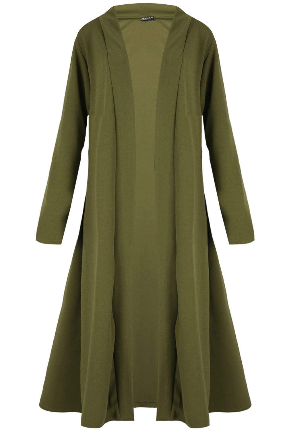New-Waterfall-Baggy-Women-Cardigan-Maxi-Floaty-Ladies-Open-Trench-Coat-Plus-Size