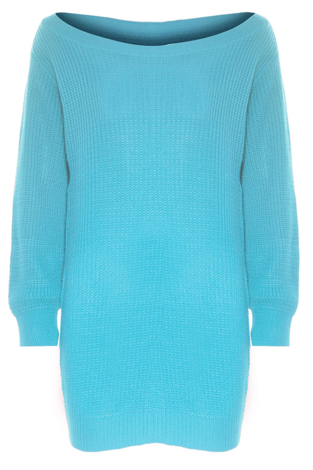 Details about Ladies Womens Off Shoulder Chunky Knit Oversized Baggy Tunic Jumper Mini Dress