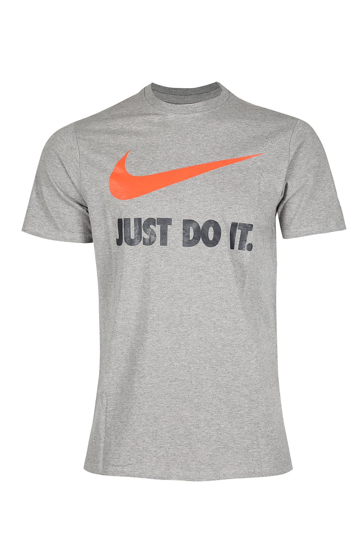 nike branded mens sports crew neck just do it swoosh logo