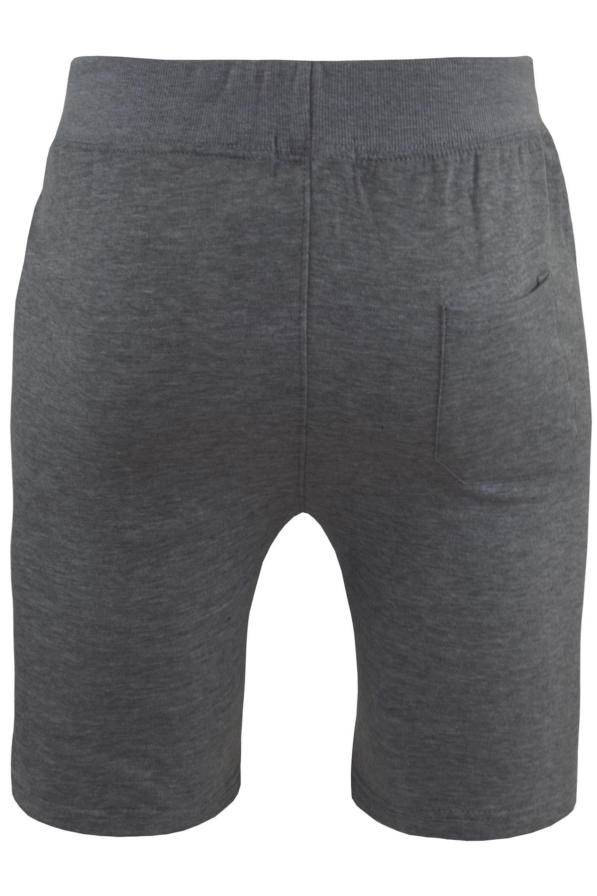 Mens-Contrast-Panel-Running-Summer-Side-Slit-Knee-Length-Fleece-Bottoms-Shorts thumbnail 48