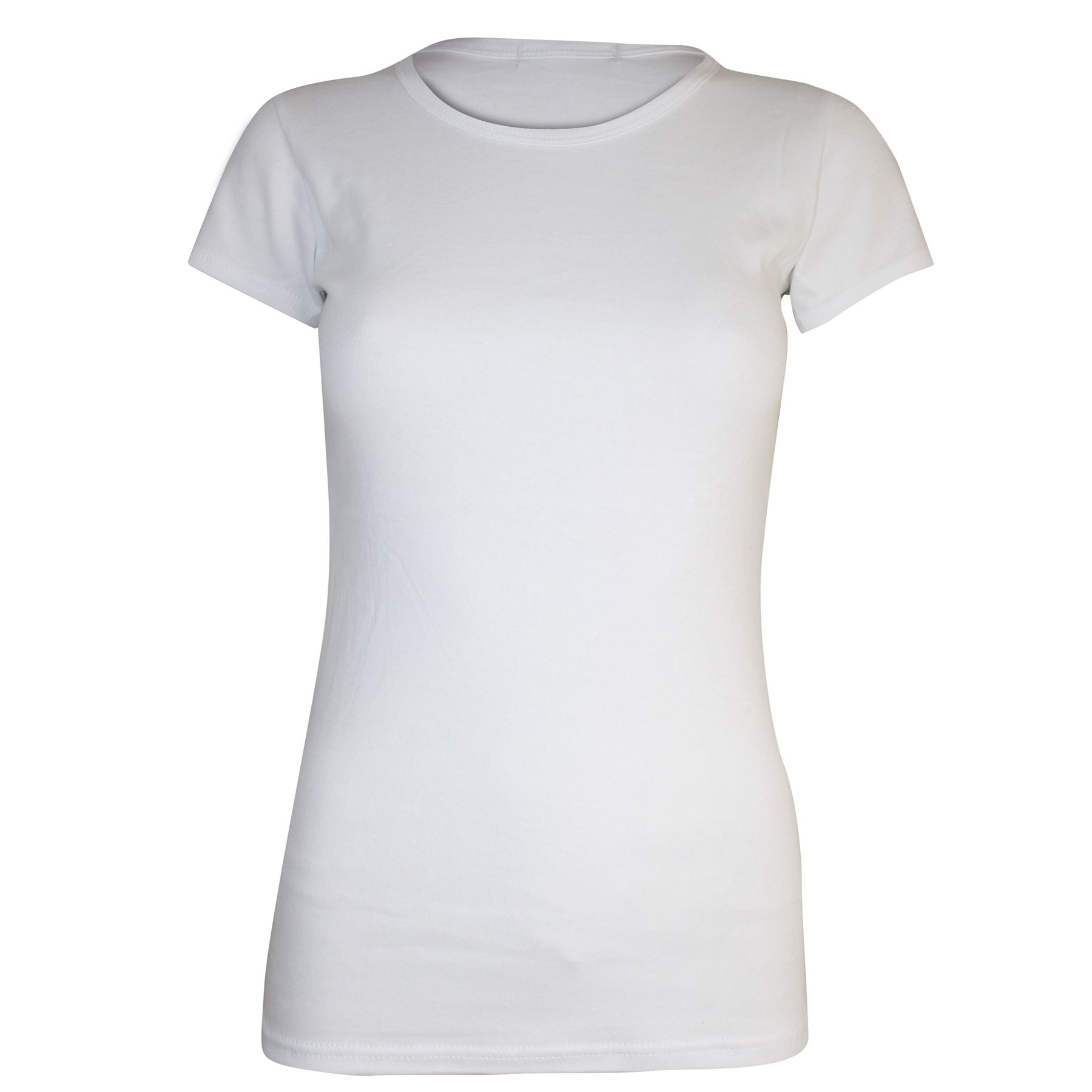 basic wit t shirt dames