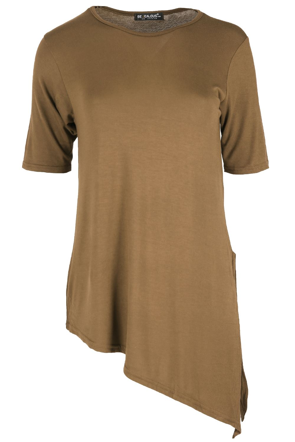 Travel Crew Neck Tiered Hollow Out Plain Bell Sleeve Blouse suits