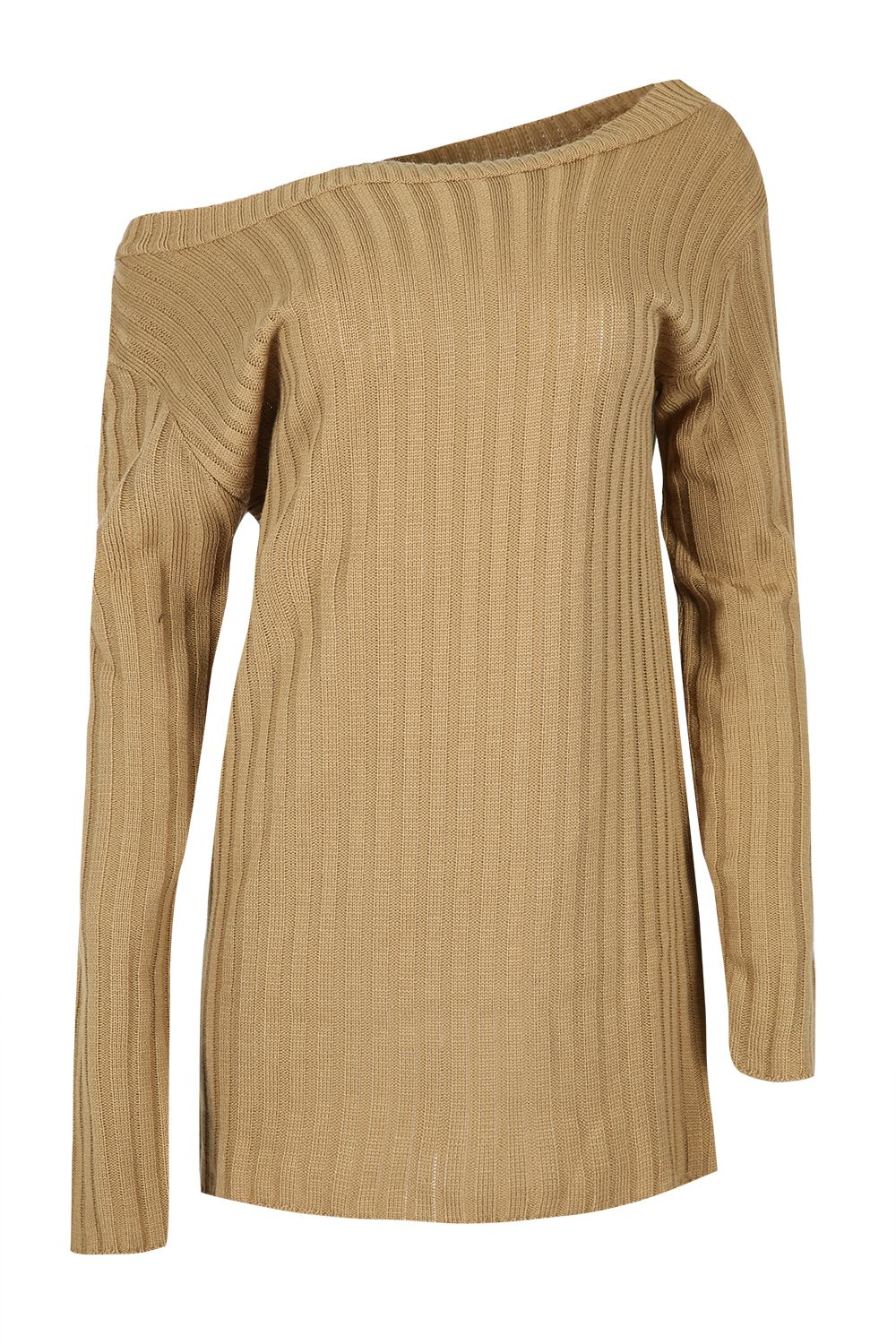 Womens-Oversized-Jumper-Ladies-Dress-Long-Sleeve-Chunky-Knitted-Long-Sweater-Top thumbnail 48