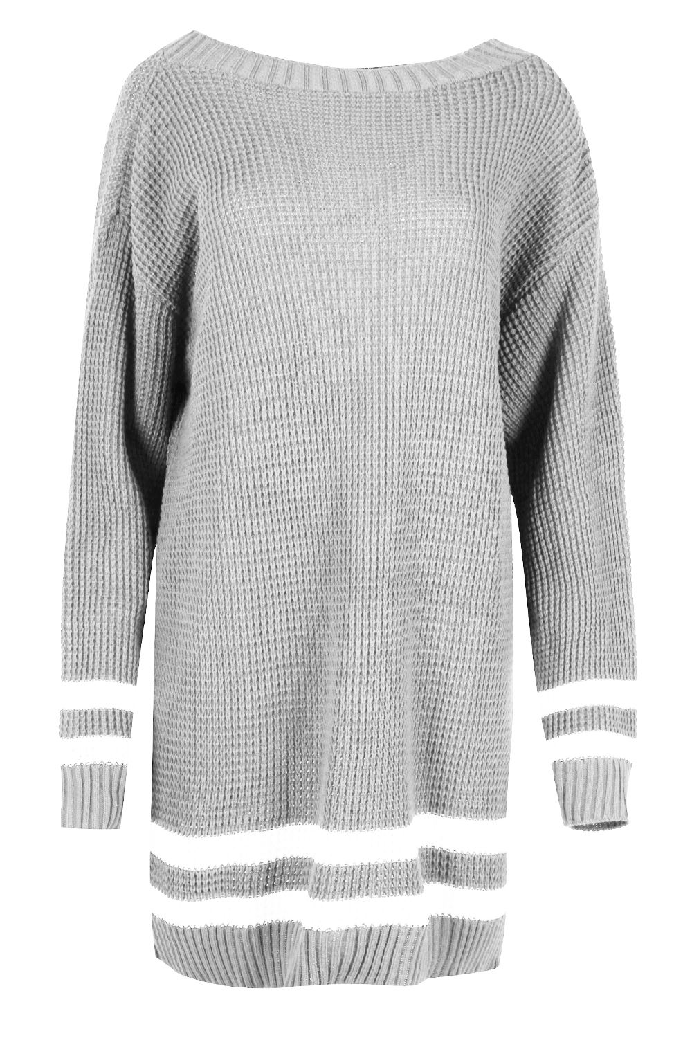 Womens-Oversized-Jumper-Ladies-Dress-Long-Sleeve-Chunky-Knitted-Long-Sweater-Top thumbnail 40