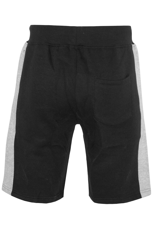 Mens-Contrast-Panel-Running-Summer-Side-Slit-Knee-Length-Fleece-Bottoms-Shorts thumbnail 27