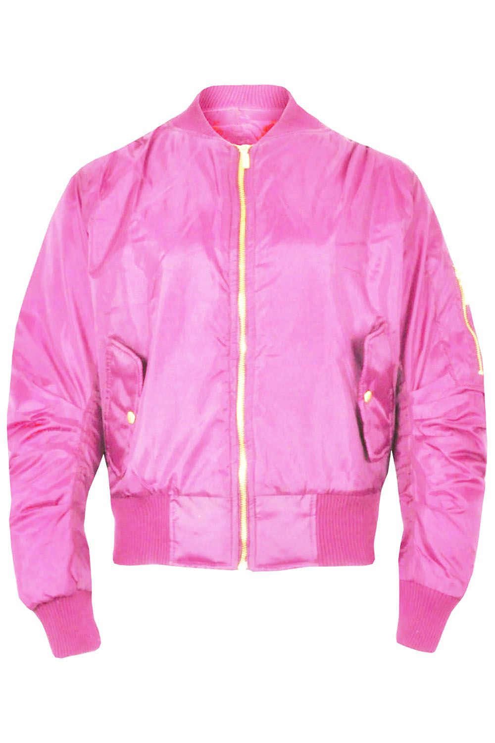 Kids Pink Bomber Jacket - Jackets In My Home
