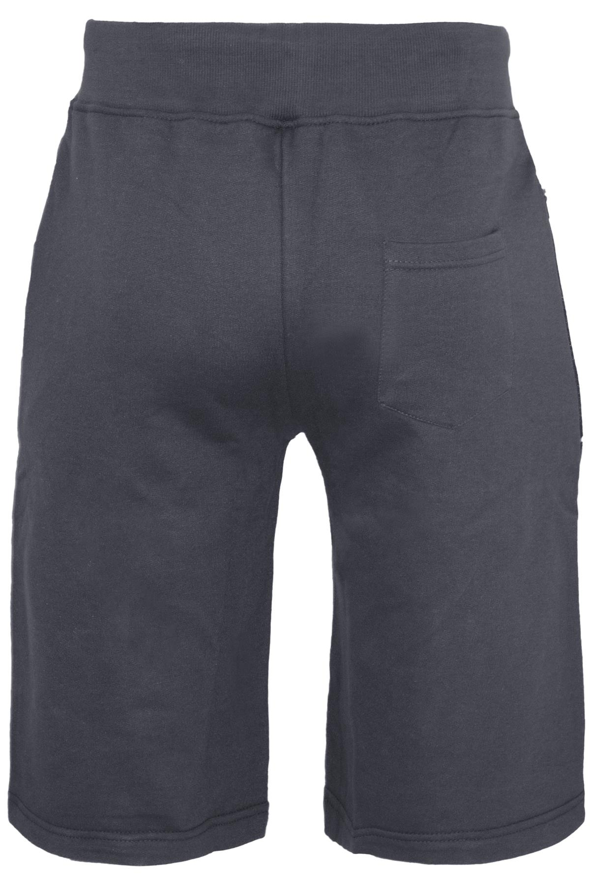 Mens-Contrast-Panel-Running-Summer-Side-Slit-Knee-Length-Fleece-Bottoms-Shorts thumbnail 44