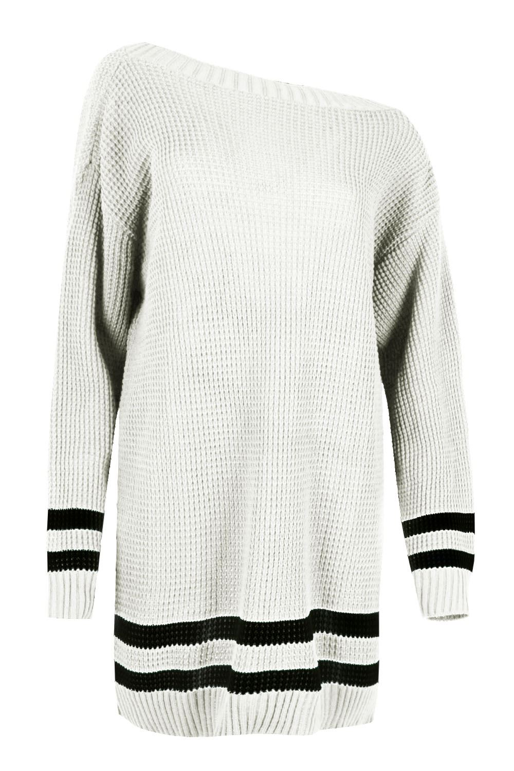 Womens-Oversized-Jumper-Ladies-Dress-Long-Sleeve-Chunky-Knitted-Long-Sweater-Top thumbnail 22