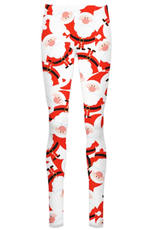 Women-Ladies-Kids-Girls-Xmas-Santa-Gifts-Christmas-Print-Skater-Mini-Swing-Dress thumbnail 19
