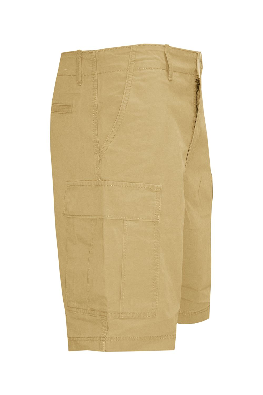 Homme Uni 3//4 Short Cargo Combat Chino Casual Pantalon Multi Poches Fermeture Éclair