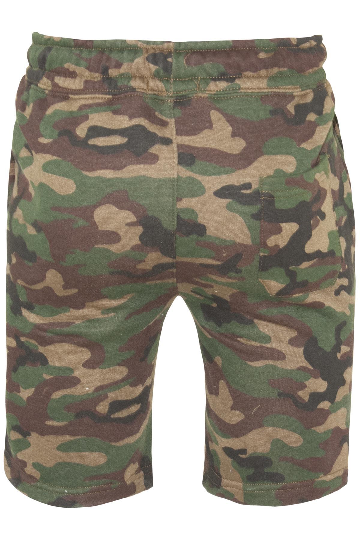 Mens-Contrast-Panel-Running-Summer-Side-Slit-Knee-Length-Fleece-Bottoms-Shorts thumbnail 58