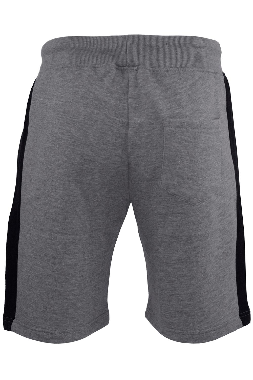 Mens-Contrast-Panel-Running-Summer-Side-Slit-Knee-Length-Fleece-Bottoms-Shorts thumbnail 30