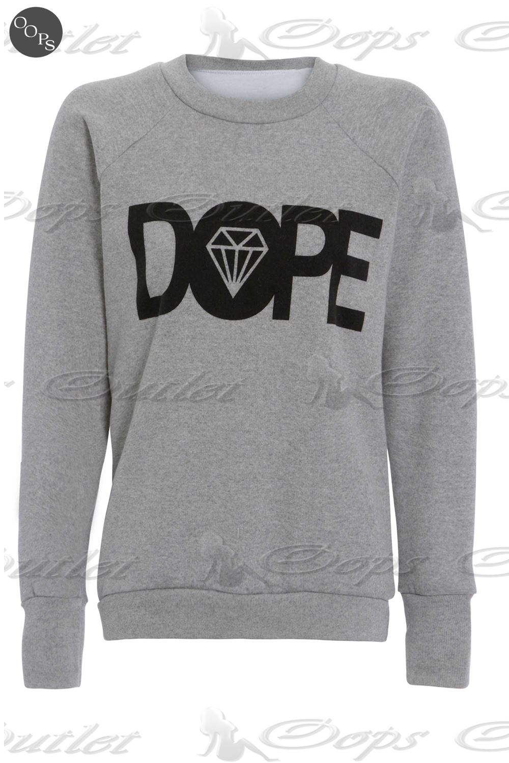 Womens-Ladies-Sweatshirt-Cocaine-And-Caviar-Printed-Jumper-Pullover-T-Shirt-Top