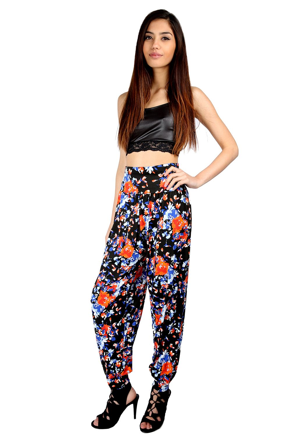 Cool Women Pink Printed Harem Pants On Luulla