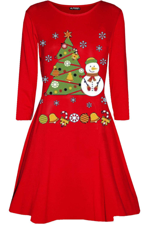 womens ladies long sleeve maternity mummy 039 s - Maternity Christmas Dress