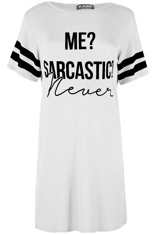 Black t shirt nightdress - Ladies Pj Shirt Womens Me Sarcastic Never Oversized
