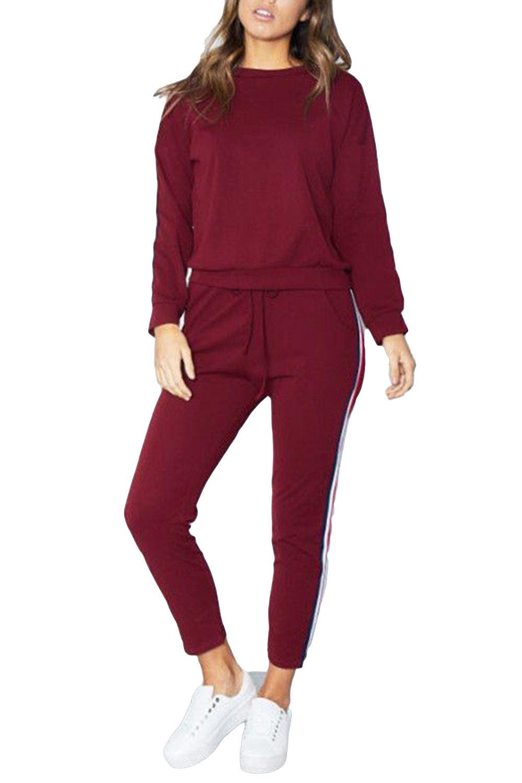 fad5edd77 Ladies Tracksuit Womens Newyork All Stars Pocket Hoodies Sweatshirt ...