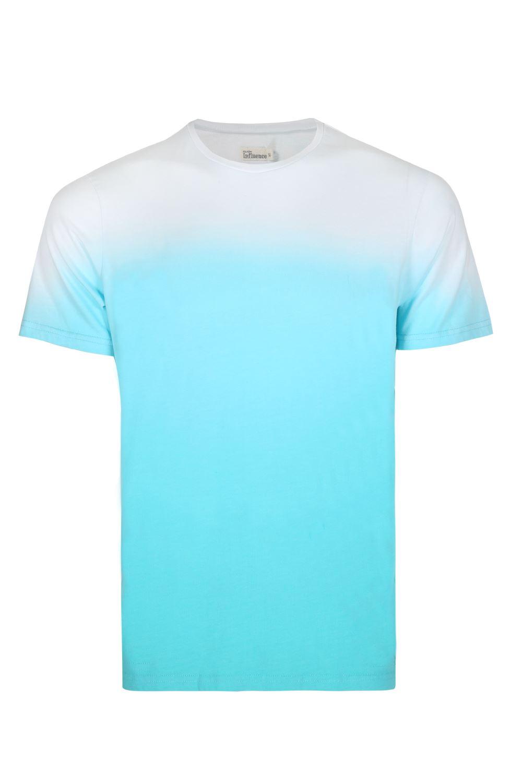 T shirt white colour - Mens Dual Colour T Shirt Designer Crew Neck