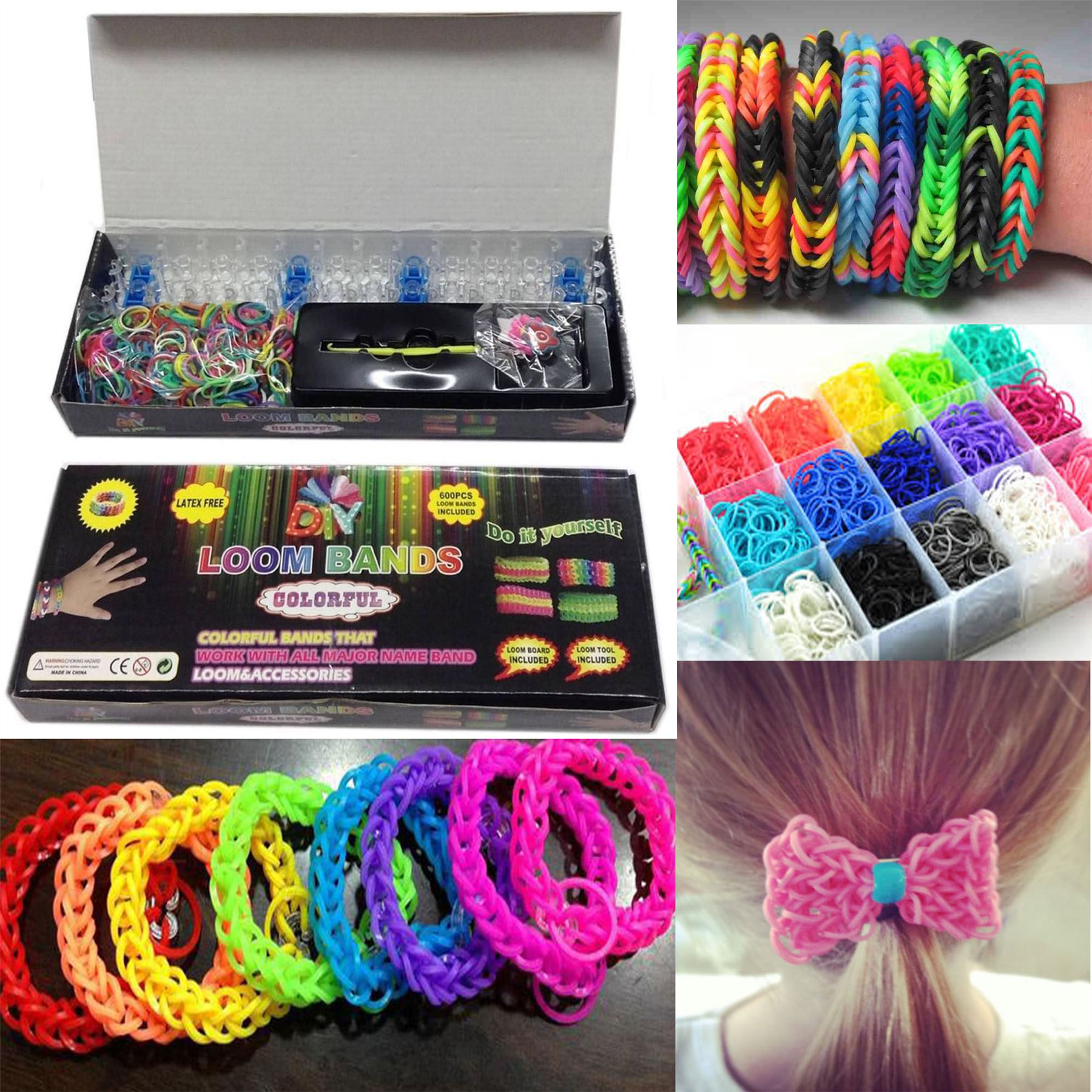 deals products bands ship free colorful loom ye