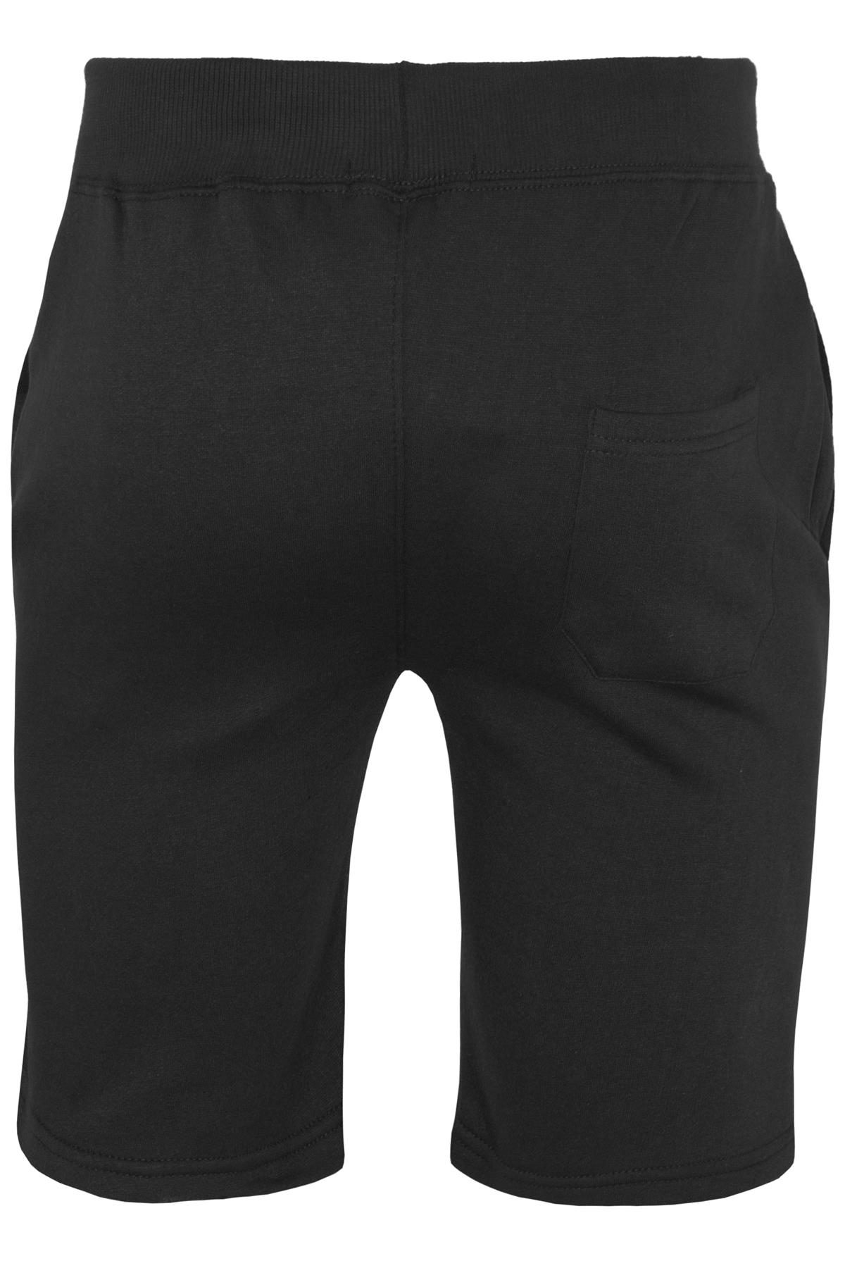Mens-Contrast-Panel-Running-Summer-Side-Slit-Knee-Length-Fleece-Bottoms-Shorts thumbnail 3
