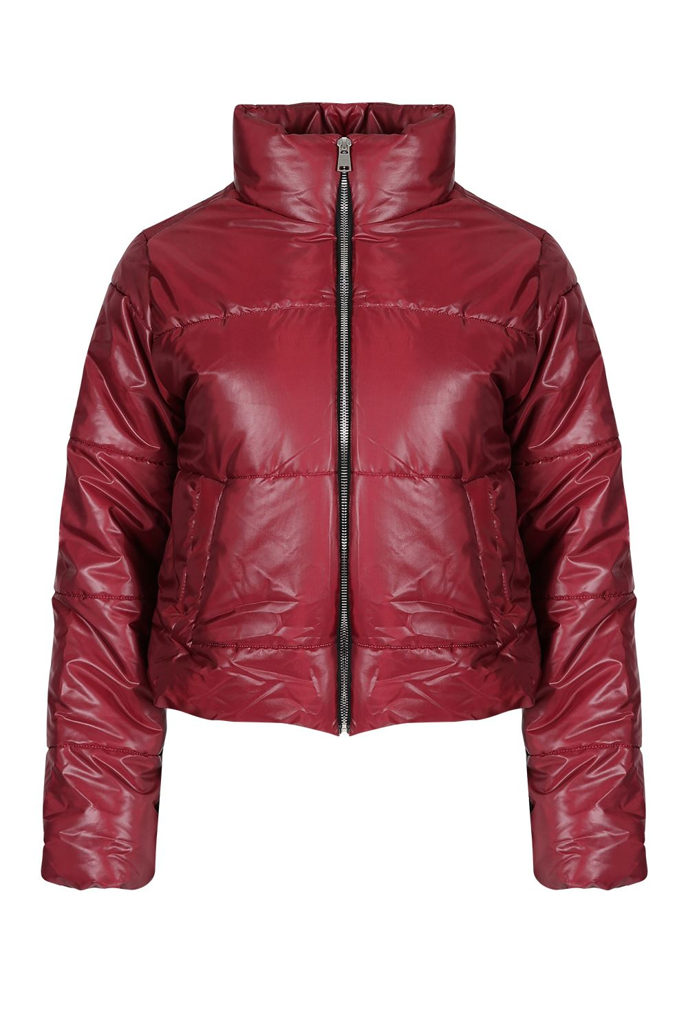 super cheap compares to marketable diversified latest designs Details about Ladies Womens Puffer Quilted Padded Bubble Warm Thick Crop  Coat Cropped Jacket