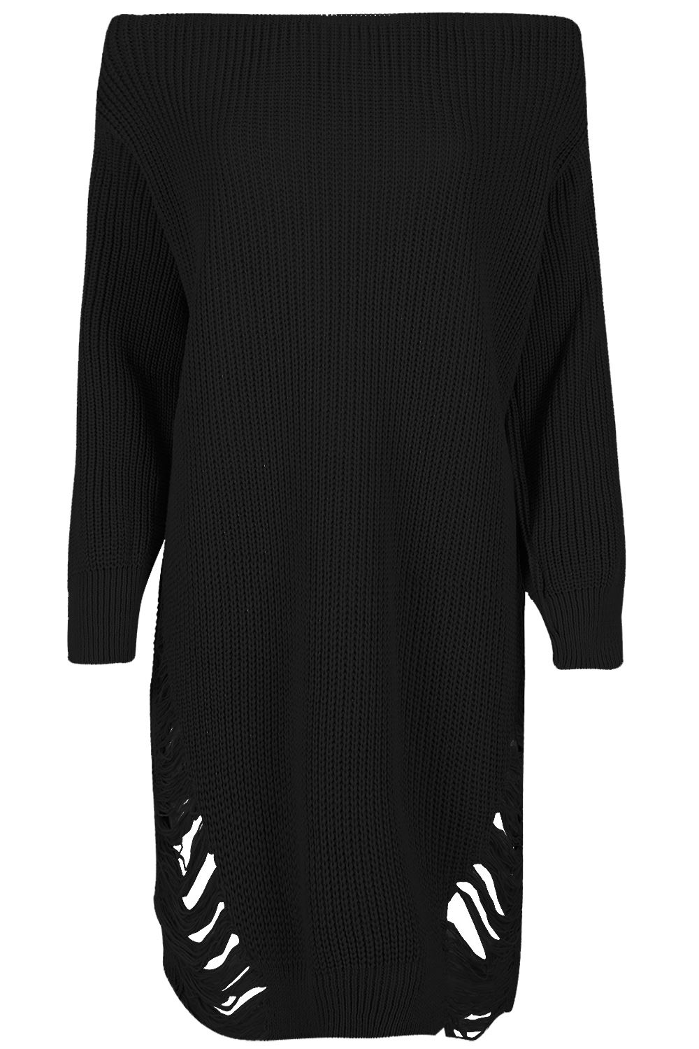 Womens-Oversized-Jumper-Ladies-Dress-Long-Sleeve-Chunky-Knitted-Long-Sweater-Top thumbnail 28