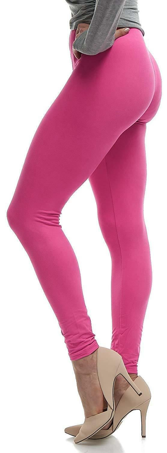 Clothing, Shoes & Accessories Sporting Goods Sunny Ladies Legging Ladies Plain Stretchy Viscose Leggings Plus Size 8-14