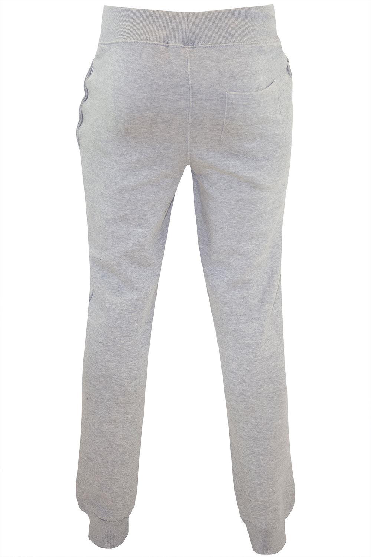 Polar-Para-hombre-Cintura-Elastica-Slim-Fit-Pantalones-De-Chandal-Jog-Pista-Pantalon-gymming miniatura 8