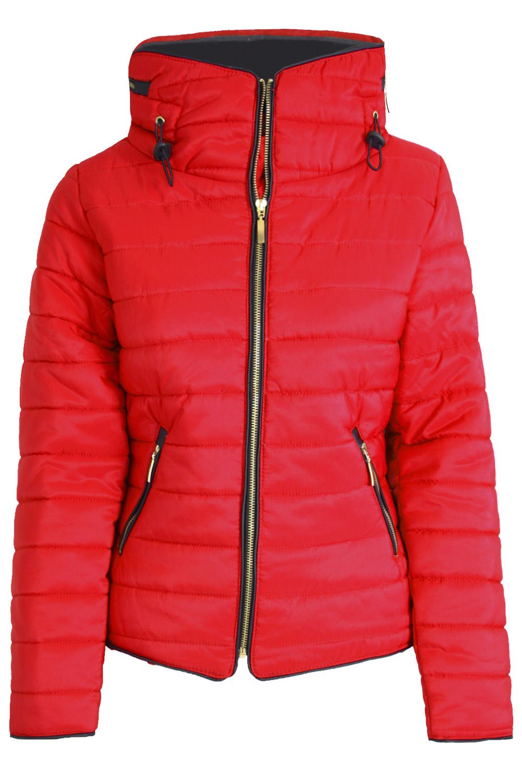 Womens-Ladies-Parka-Trench-Long-Fishtail-Hooded-Faux-Fur-Brave-Soul-Coat-Jacket thumbnail 13