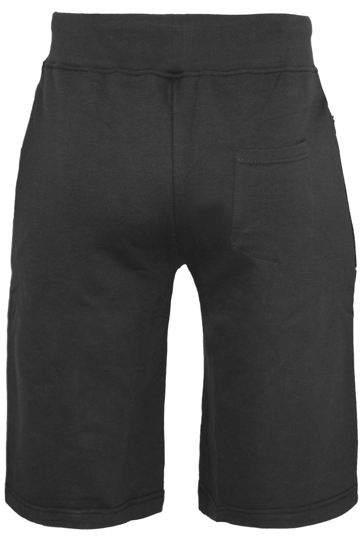 Mens-Contrast-Panel-Running-Summer-Side-Slit-Knee-Length-Fleece-Bottoms-Shorts thumbnail 38