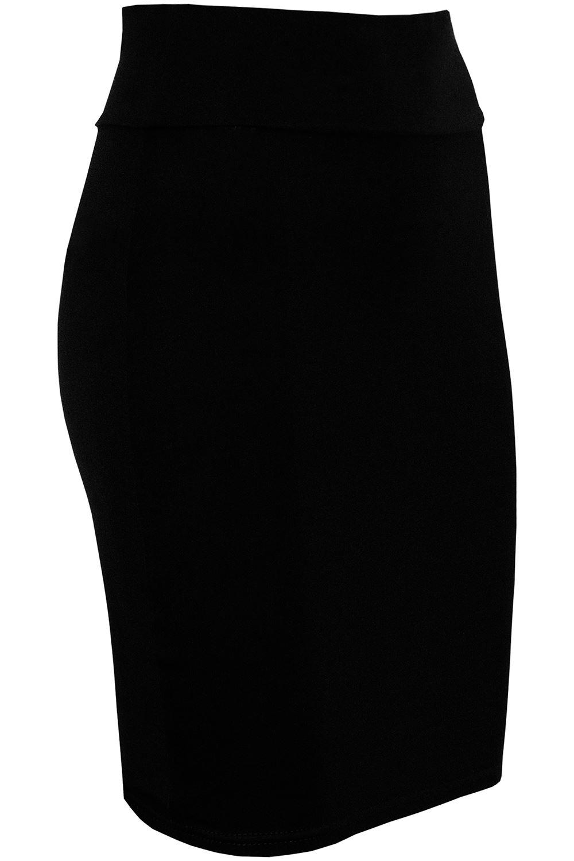Débardeur Femmes Uni Bureau taille haute bodyhug moulante Mini Crayon Ajusté Jupe