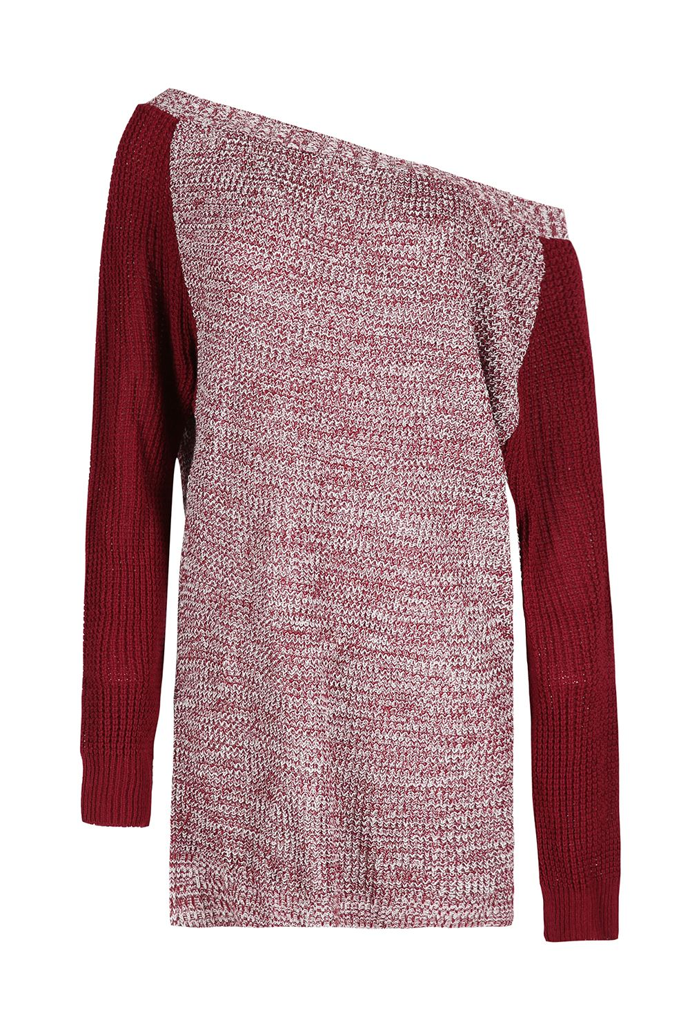Womens-Oversized-Jumper-Ladies-Dress-Long-Sleeve-Chunky-Knitted-Long-Sweater-Top thumbnail 33